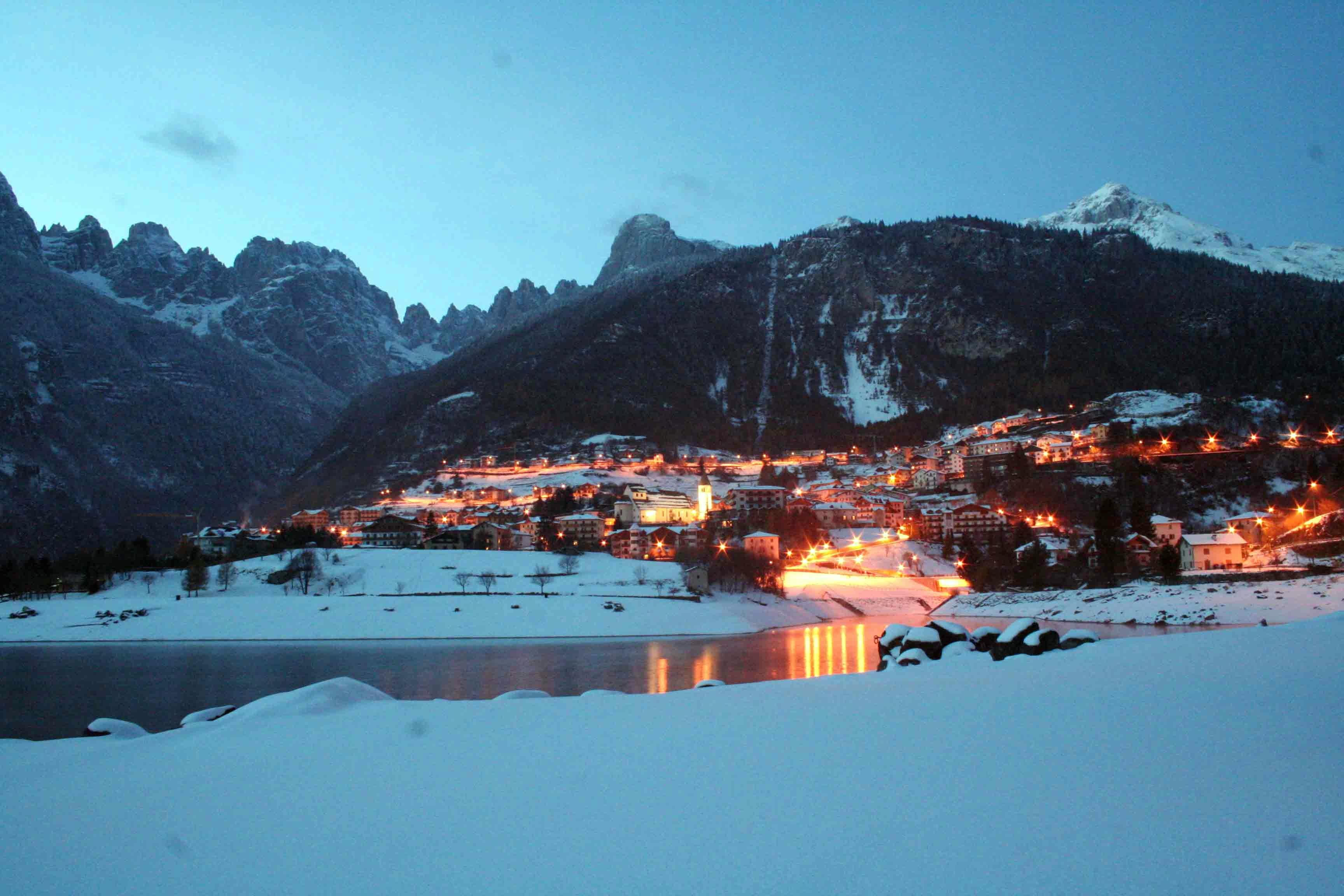Molveno bandiere arancioni tci for Trento informazioni turistiche