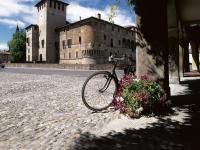 Fontanellato (PR) - Rocca Sanvitale e portici