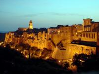 Pitigliano (GR) - Vista da San Michele