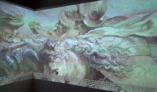 Embedded thumbnail for La Battaglia di Anghiari di Leonardo da Vinci