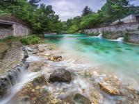 Il fiume Verde a Fara San Martino, foto di P. Cocco