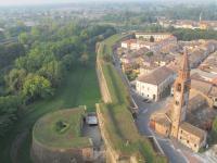 Pizzighettone Bandiera arancione - Area Rivellino e Fossato