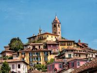 Veduta panoramica di Monforte d'Alba, foto di Dario Fiore