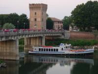 Crociera con motonave sul fiume Adda a Pizzighettone