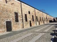 Pizzighettone Bandiera arancione - Mura di Porta Crema