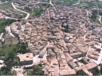 Veduta aerea di Orsara di Puglia, foto di D. Narducci