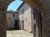 Corte della fortezza di Castrocaro Terme e Terra del Sole
